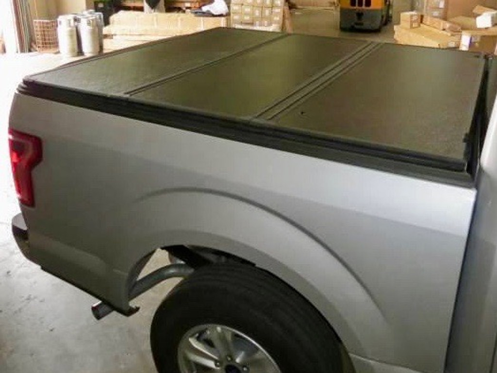 Tri-Fold Hard Lid Tonneau Cover For Chevrolet Silverado 2500 2014-2021