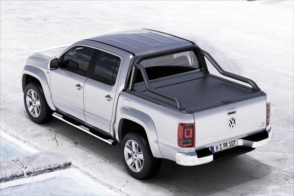 Gen2 Black Roller Lid Shutter For Volkswagen Amarok 2010-2021