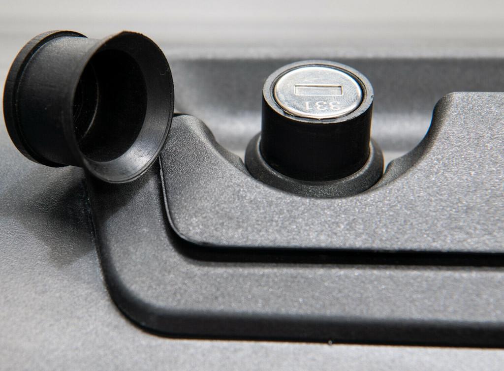 Gen2 Black Roller Lid Shutter For Ford Ranger 2012-2021