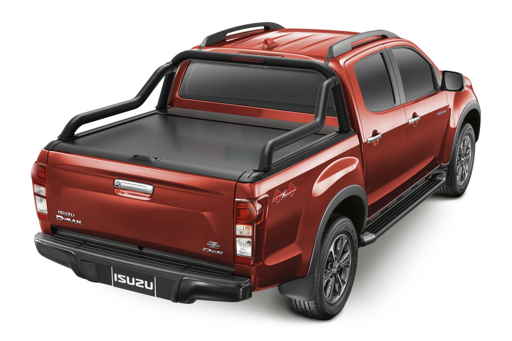 Gen2 Black Roller Lid Shutter For Holden Colorado RG 2012-2020