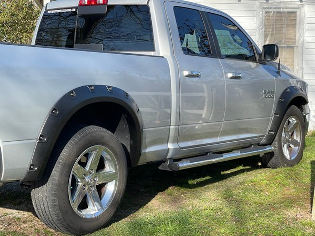 Textured Fender Flares For Dodge RAM DS Classic 1500 2009-2021