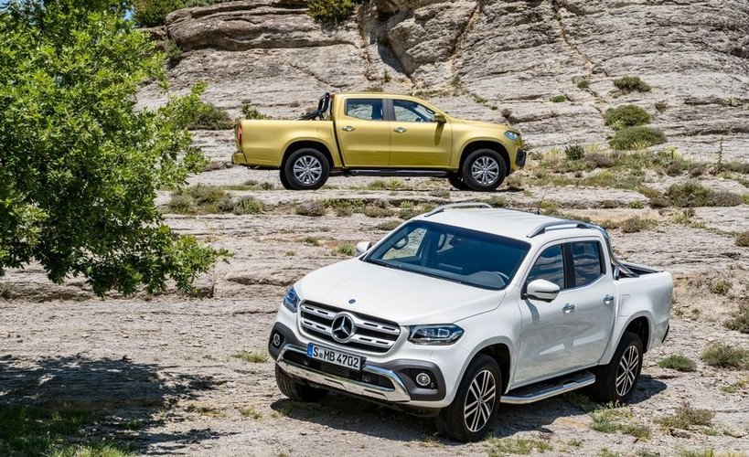 2018 Mercedes-Benz X-Class revealed