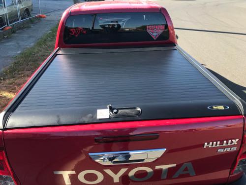 Black Roller Lid Shutter For Toyota Hilux SR5 2015-2020