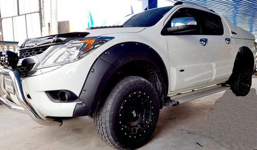 Textured Fender Flares For Mazda BT-50 2012-2020