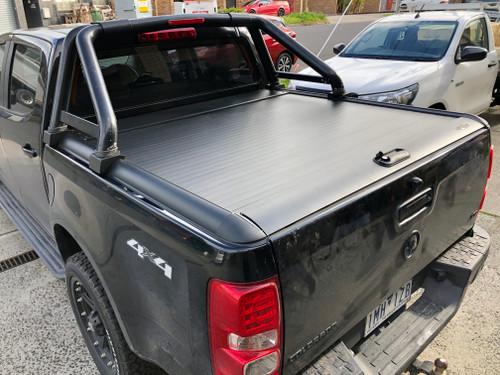 Gen1 Black Roller Lid Shutter For Holden Colorado RG 2012-2020