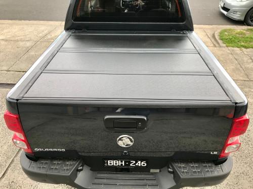 Quad-Fold Hard Lid Tonneau Cover for Holden Colorado RG 2012-2020