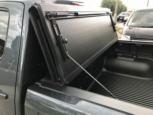 Quad-Fold Hard Lid Tonneau Cover for Isuzu D-Max 2012-2020