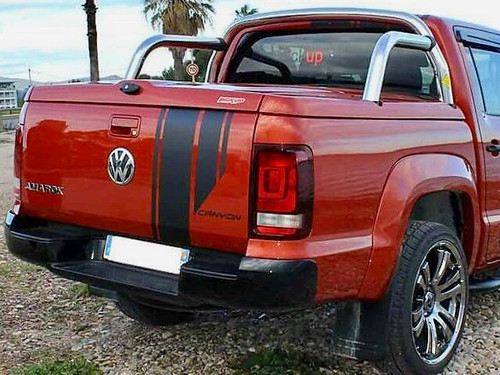 3 Piece Hard Lid For Volkswagen Amarok 2010-2020