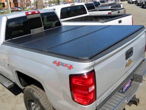 Tri-Fold Hard Lid Tonneau Cover for Chevrolet Silverado 2014-2020 6,5' BED