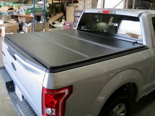 Tri-Fold Hard Lid Tonneau Cover for Ford F-150 2015-2019 6,5' BED