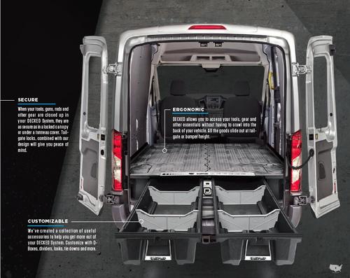 Decked Drawer Storage System For Mercedes-Benz Sprinter Van