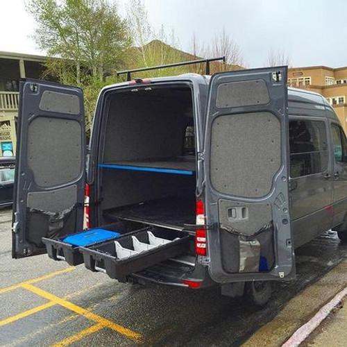 Decked Drawer Storage System For Fiat Ducato Van
