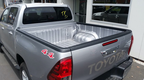 TAILGATE GUARD CAP PROTECTOR COVER FOR TOYOTA HILUX SR5 2015-2020