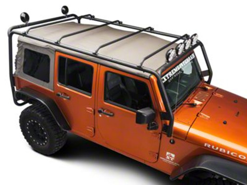 Roof Rack System Exo Skeleton For Jeep Wrangler JL 4 Door 2018+