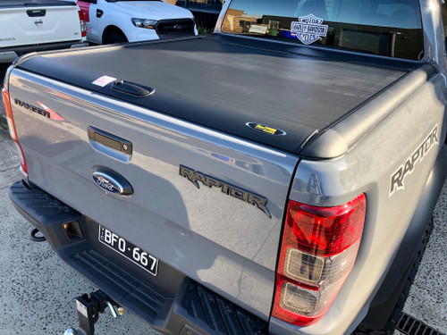 Black Roller Lid Shutter For Ford Ranger RAPTOR 2018-2020