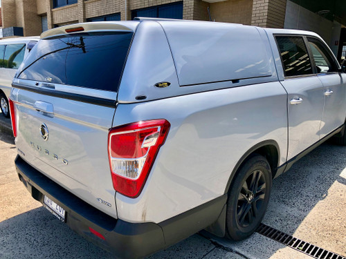 FORCE PRO PLUS Canopy For SsangYong Musso XLV (Long Tub) 2018+