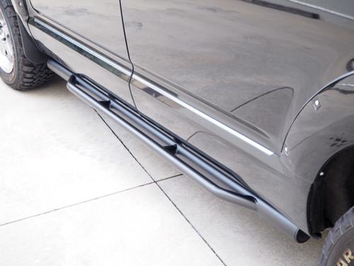 """3"""" Black Side Bars For Mitsubishi DELICA D5 2006-2021"""