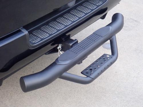 Universal Black Rear Hitch Step