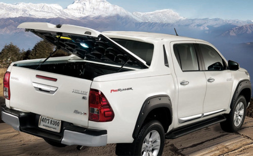 Hard Lid With Stylish Bar For Toyota Hilux SR5 2015-2020