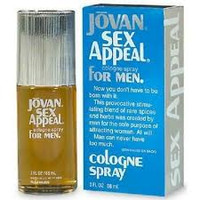 Jovan (Coty) Sex Appeal Cologne Spray for Men (DISCONTINUED) - BRAND NEW BOTTLE
