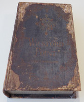 Pressboard Book Box for Storing Decants - Antiqued Design