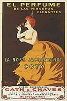 VINTAGE - Coty La Rose Jacqueminot EDT
