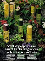 RETRO - Coty Sweet Earth Soft Mist of Patchouli