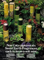 RETRO - Coty Sweet Earth Soft Mist of Jasmine