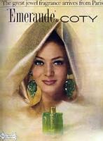 VINTAGE - Coty Emeraude Perfumed Bath Oil