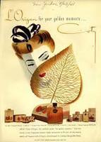 Coty L'Origan vintage EDC, eau de cologne, sample & decant