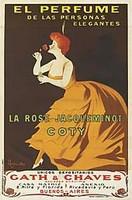 VINTAGE - Coty La Rose Jacqueminot Parfum