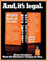 RETRO - Jovan Musk OIl Aftershave/Cologne for Men
