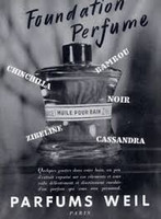 VINTAGE - Weil Chinchilla Royal Perfume
