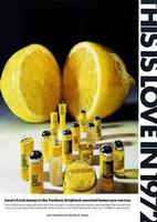 RETRO - Menley & James Love's Fresh Lemon Cologne