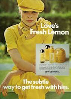 RETRO - MEM Love's Fresh Lemon Cologne