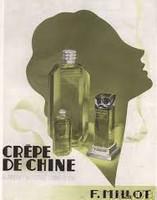 F. Millot, Crepe de Chine, parfum, perfume decant, sample