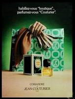 VINTAGE - Jean Couturier Coriandre Parfum sample & decant