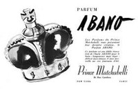 VINTAGE - Prince Matchabelli Abano Cologne Parfumee