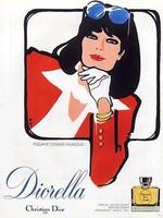 dior diorella parfum sample & decant