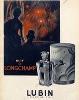 VINTAGE - Lubin Nuit de Longchamp Pure Parfum