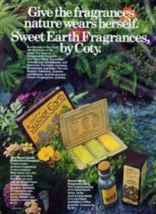 RETRO - Coty Sweet Earth Jasmine Concentrated Cologne