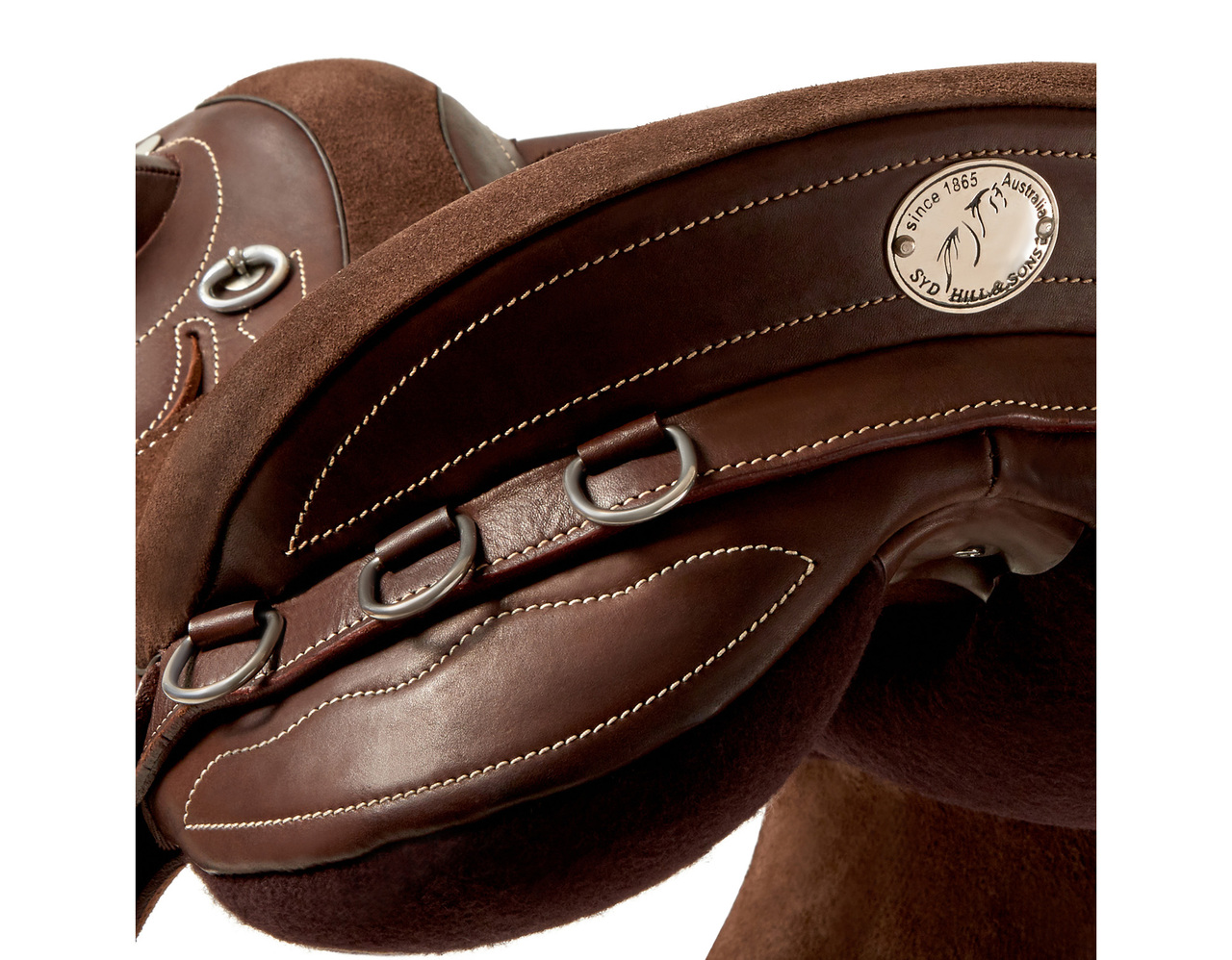 Stock saddle Half breed Riding Horse  safety Australian