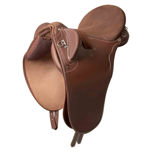 Syd Hill Stock Saddle Silver