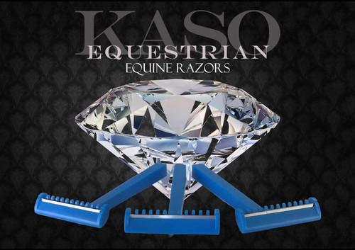 KASO Equine Razors 12 pack