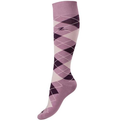 HZ Alana Check Socks Youth
