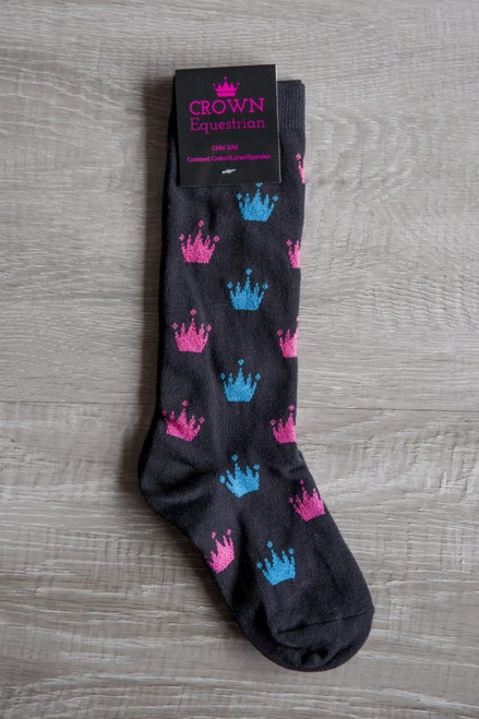 Crown Childs Riding Socks