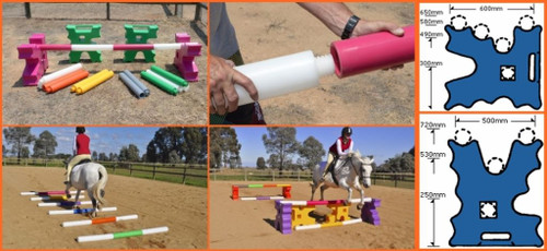 Cavaletti Jump Blocks