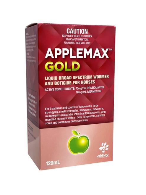 Applemax Gold- Liquid Multi-Dose Horse Wormer