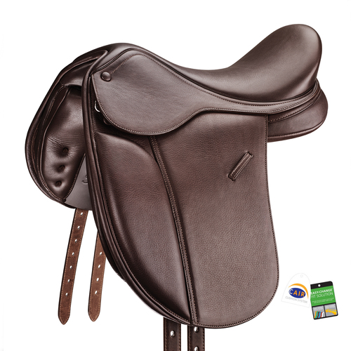 Bates Pony Show Saddle Luxe CAIR Long Flap