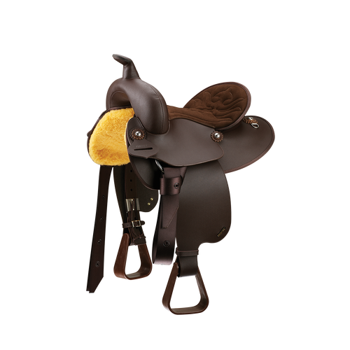 """Wintec Western Youth All Rounder Saddle 14""""  FREE SHIPPING"""